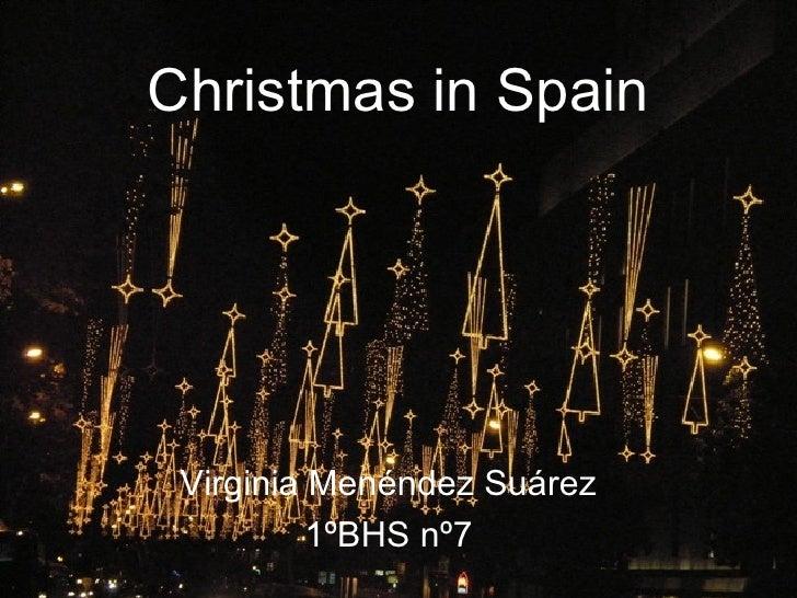 Christmas in spain. virg men