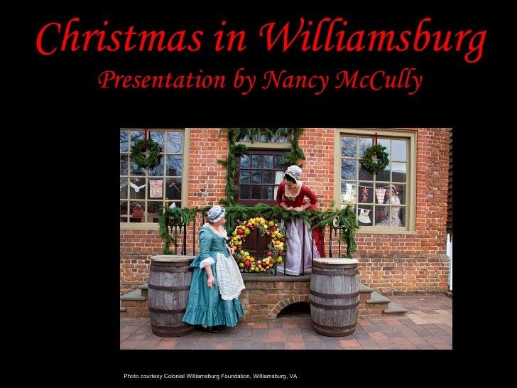 Christmas In Williamsburg La Grange Website Edited
