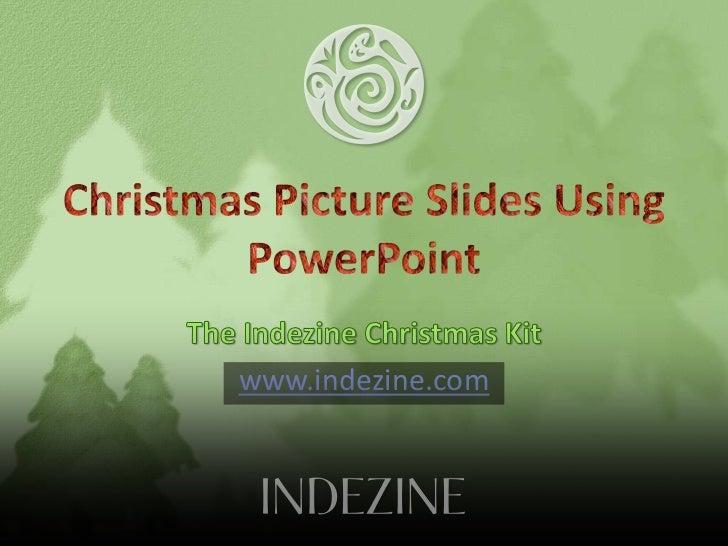 Christmas PowerPoint Presentation Kit