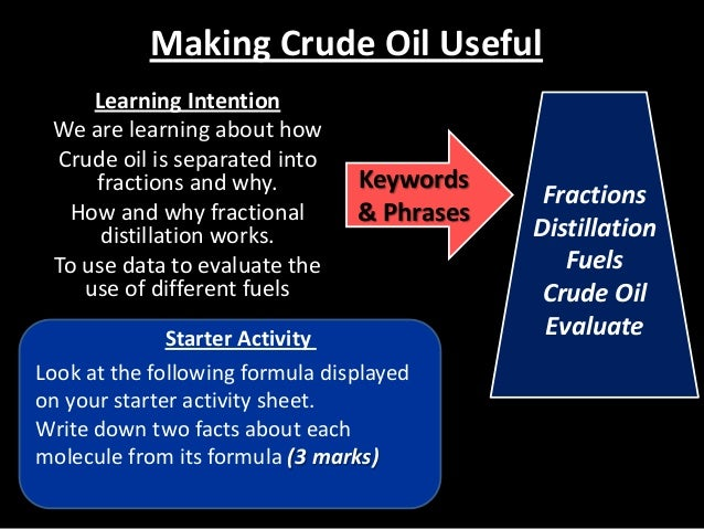 math worksheet : revision lesson making crude oil useful fractional distillation and  : Fractional Distillation Of Crude Oil Worksheet