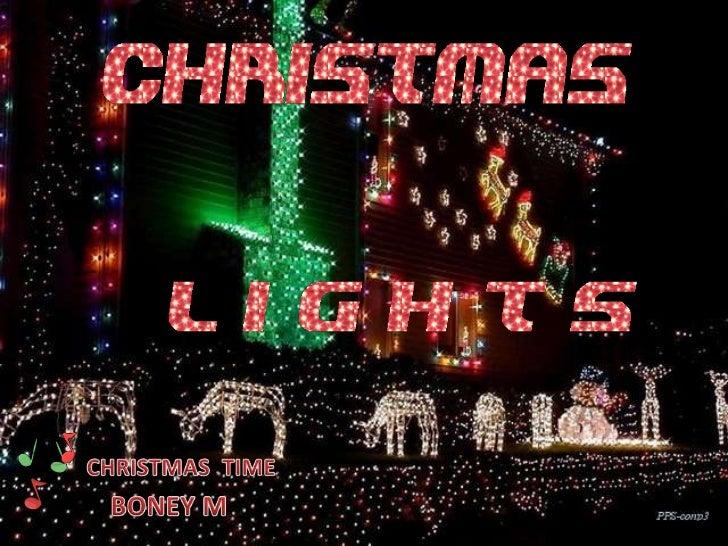 CHRISTMAS  TIME<br />BONEY M<br />