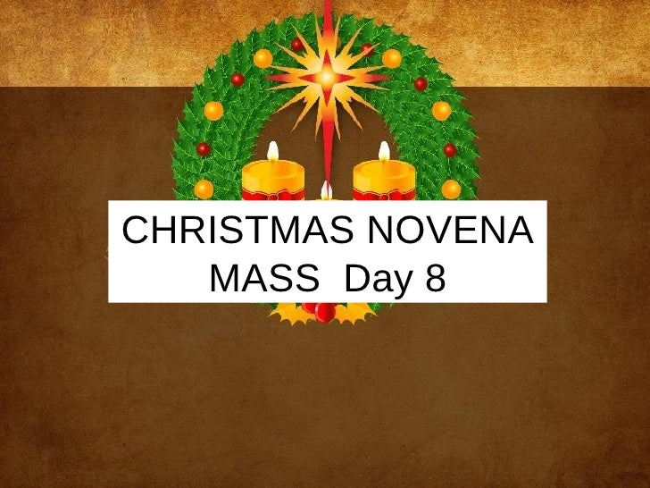 Christmas Novena 8th Day
