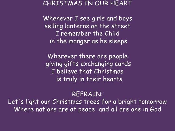 Christmas In Our Hearts - Jose Mari Chan (LYRICS) - YouTube