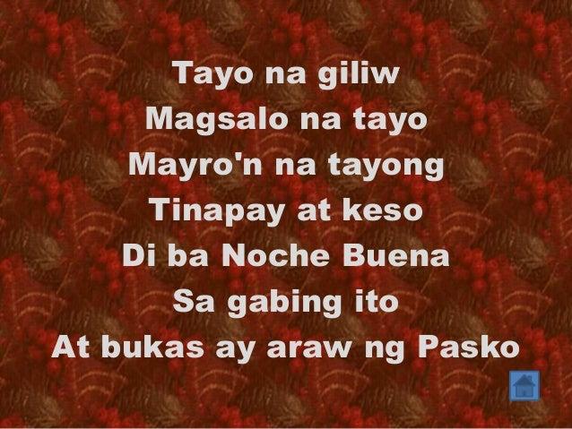 Nasaan Na Ang Dating Tayo Lyrics
