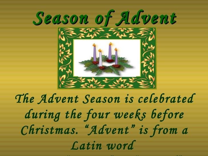 Christmas Advent for Church - 3rd Sunday