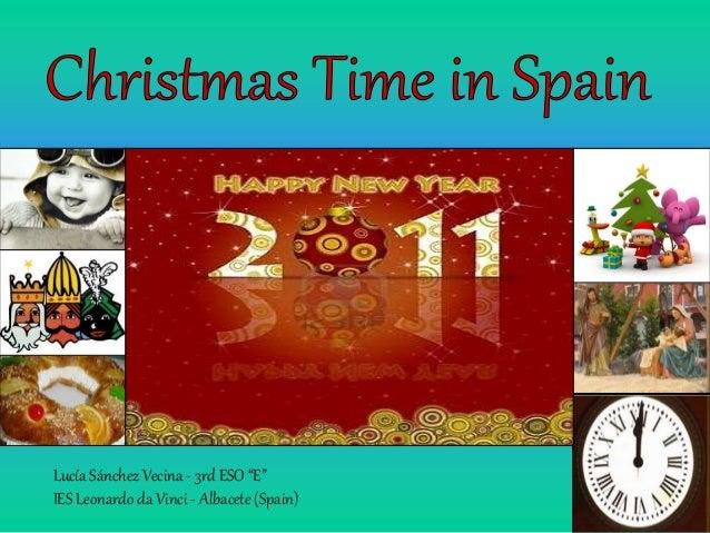Christmas time in spain  lucía sánchez vecina