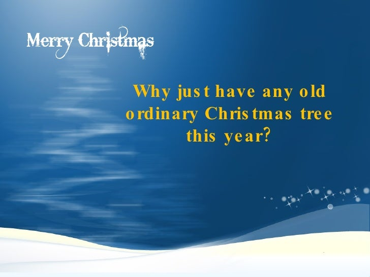 Christmas Tree Ideas:Make Your Christmas Tree Remarkable