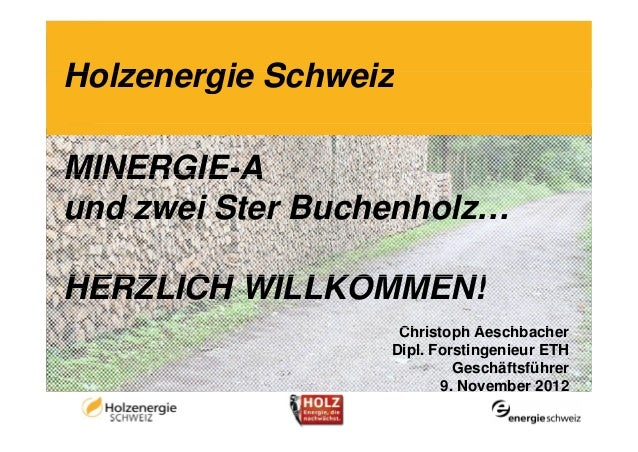 Holzenergie SchweizMINERGIE AMINERGIE-Aund zwei Ster Buchenholz…HERZLICH WILLKOMMEN!                   Christoph A        ...