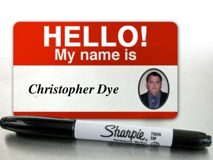 Christopher dye non traditional resume 07