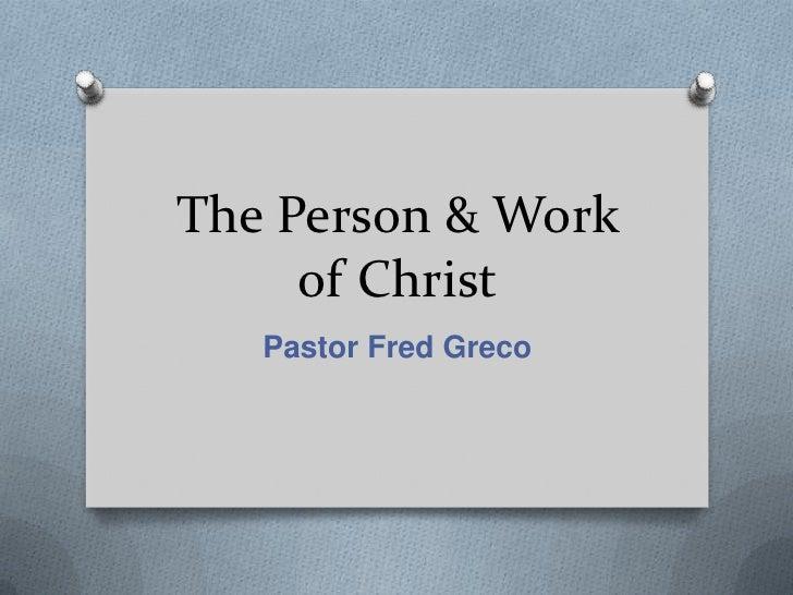 Christ The Mediator