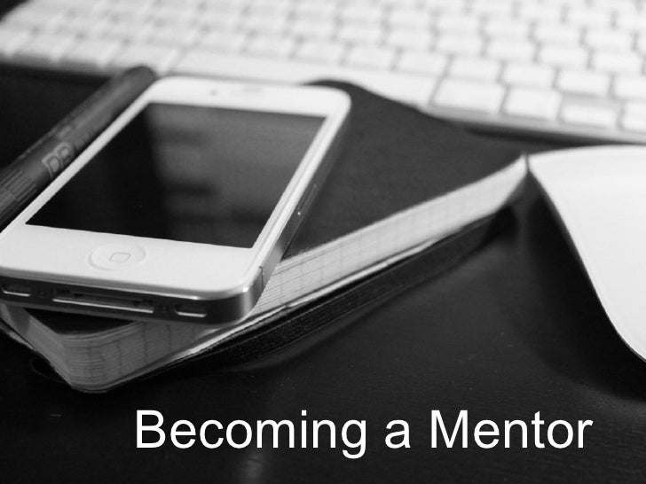Becoming a Mentor