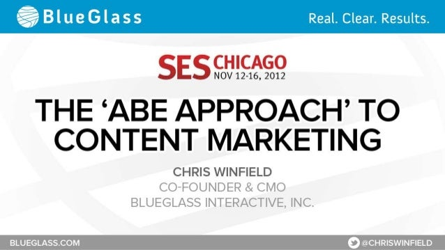 The 'ABE Approach' to Content Marketing