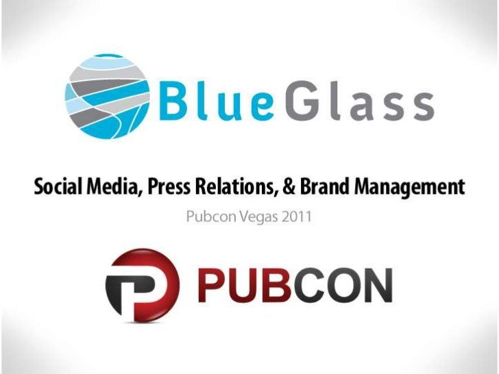 Social Media, Press Relations, & Brand Management by Chris Winfield at Pubcon, Las Vegas 2011
