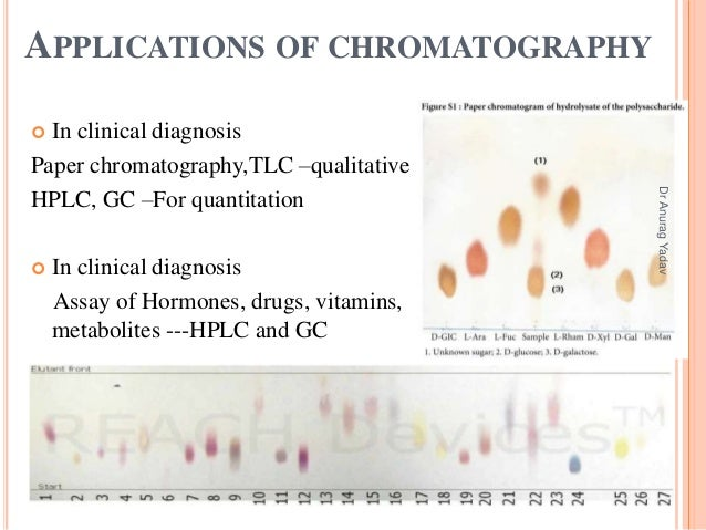 paper chromatography coursework Paper chromatography of inks and dyes target audience: 9-12 background and notes: different molecules exert different forces of attraction on each other.