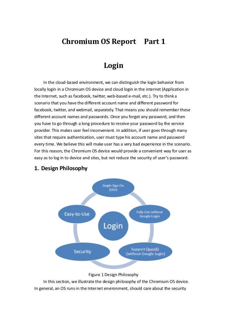 Chromium OS - Login