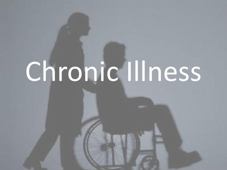 Chronic illness ppt