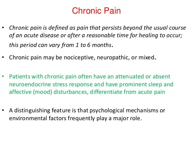 operational definition for pain Management clinics state that their pain has prevented them from working startlingly, severe this does not happen must be scaled up, which means referral to more specialised care operational structure for commissioning of services2.