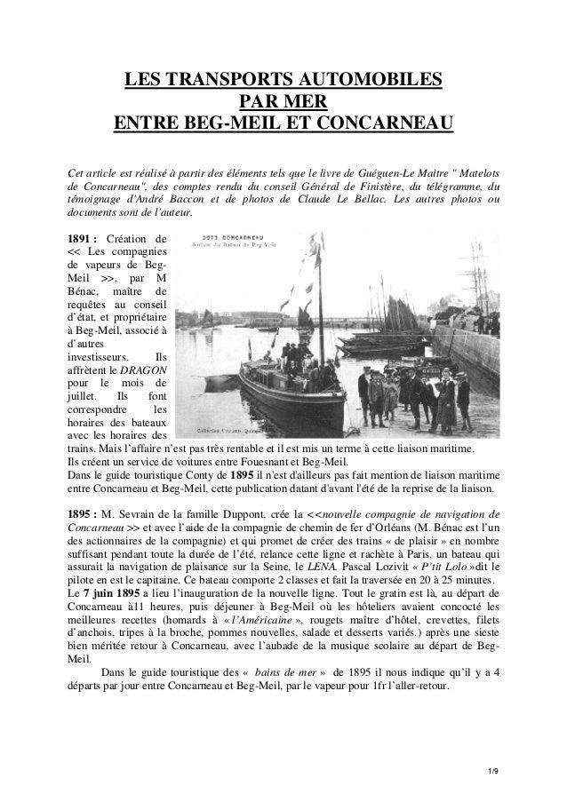 Chroniques de Fouesnant -  wyd22g