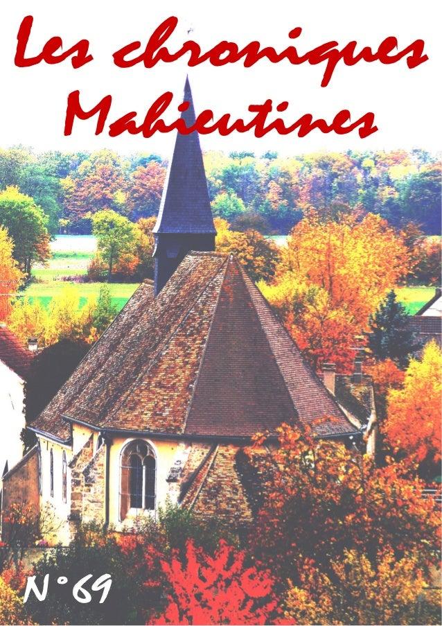 Mahieutines  Les chroniques  N°69