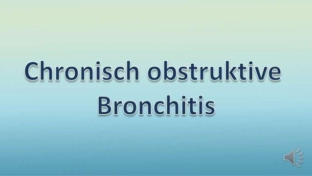 Chronisch obstruktive bronchitis