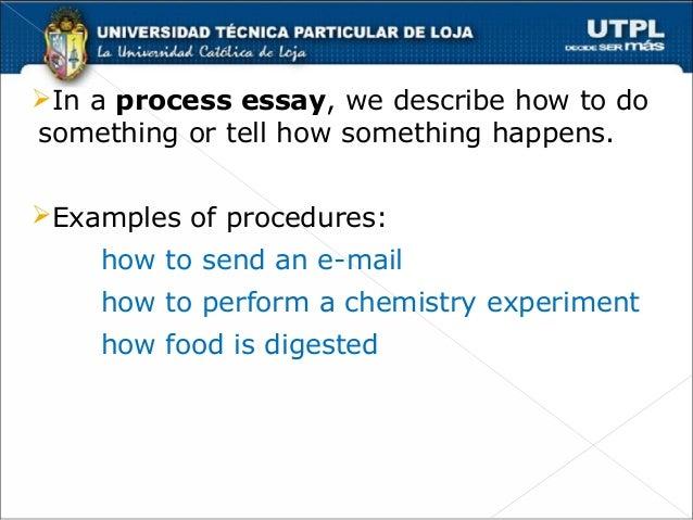 Gentil Process Essay Thesis Chronological Order Process Essays ïÆu0027Ëœin A Process  Essay