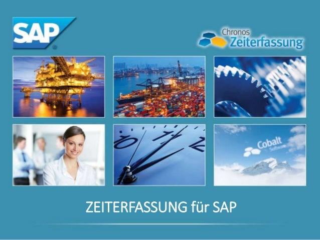 ZEITERFASSUNG für SAP