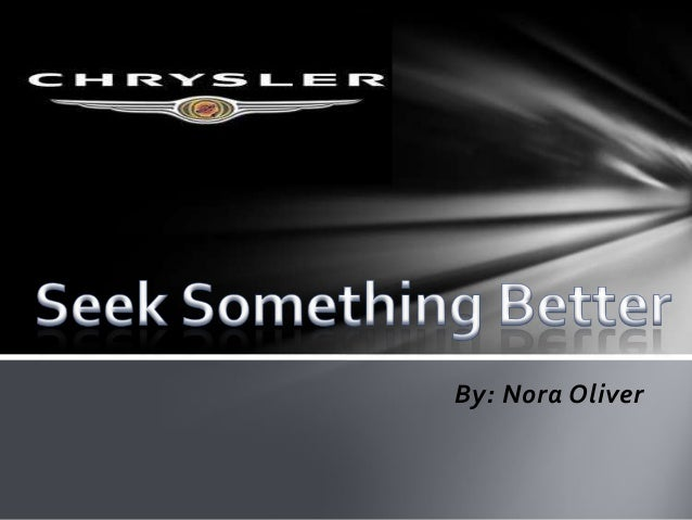 Chrysler Digital Strategy