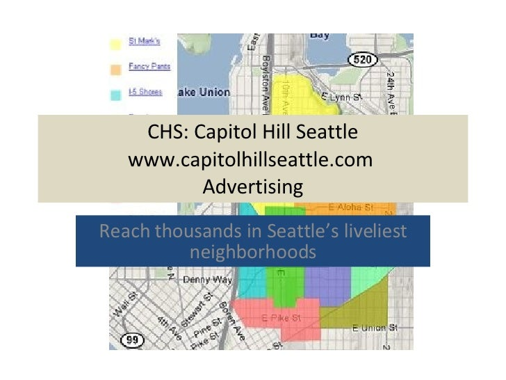 CHS: Capitol Hill Seattle Advertising