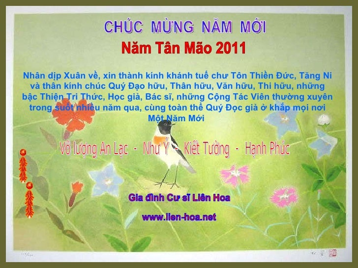 Chuc mung nam moi tan mao 2011