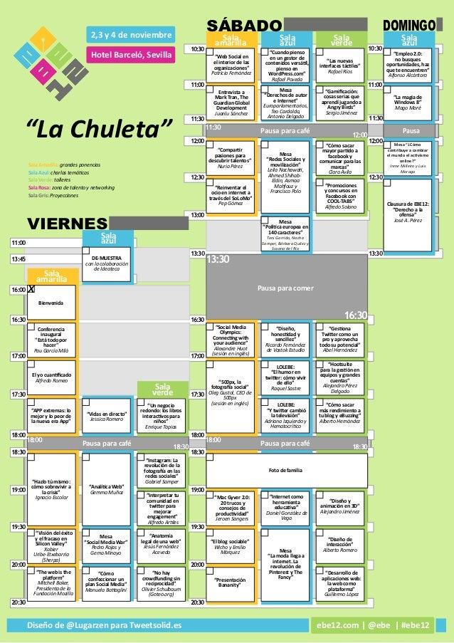 Chuleta #ebe12 color