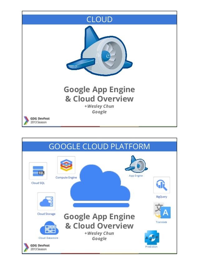 Google App Engine and Cloud Overview
