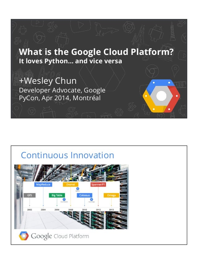 What is the Google Cloud Platform?