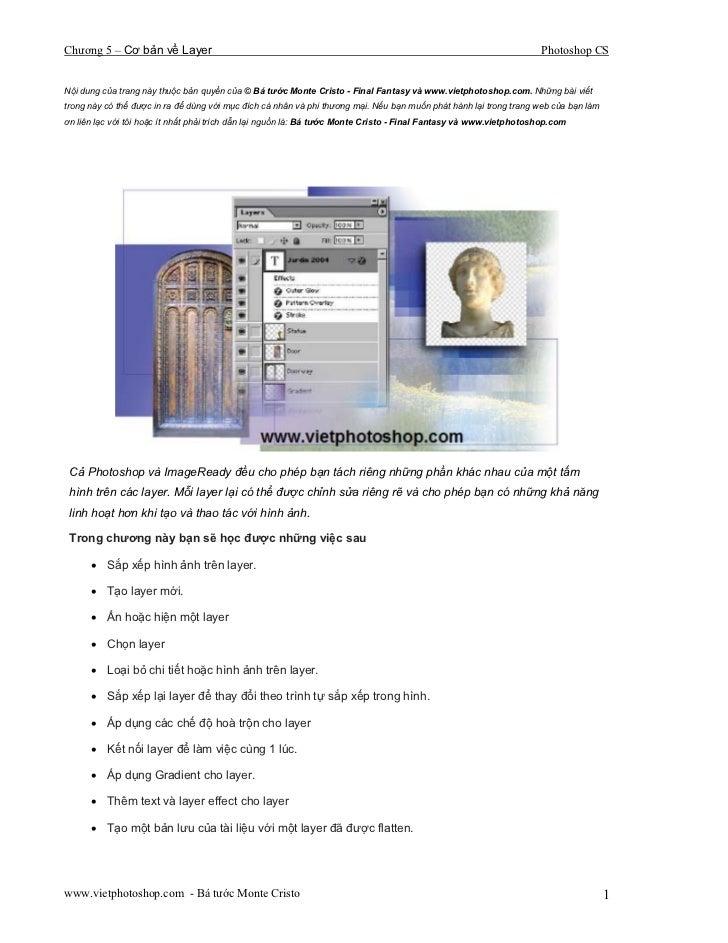 Chương 5 – Cơ bản về Layer                                                                                          Photos...