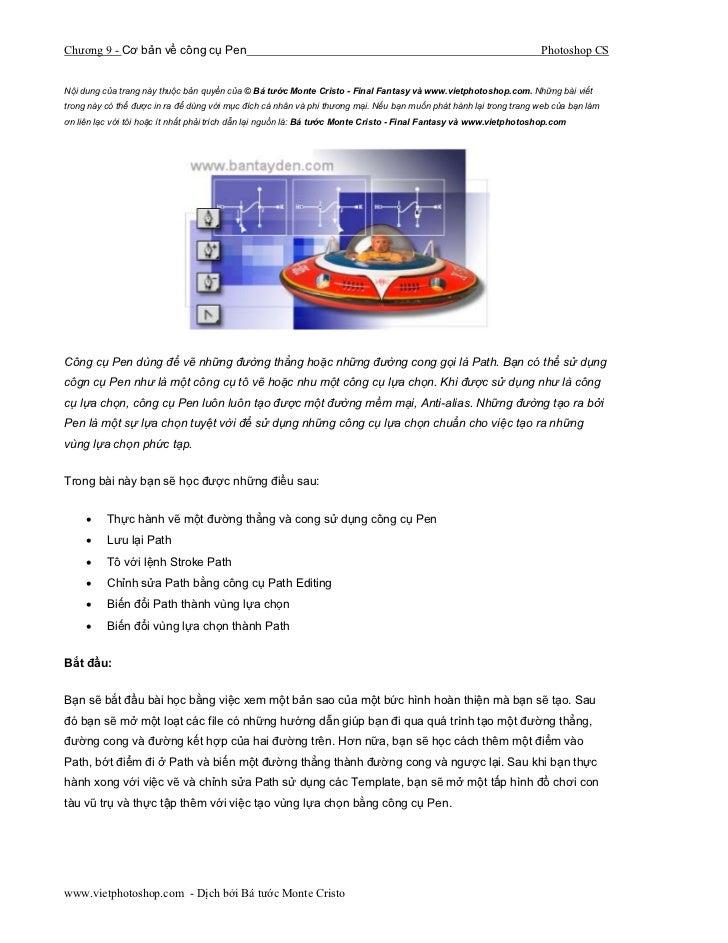 Chương 9 - Cơ bản về công cụ Pen                                                                                    Photos...