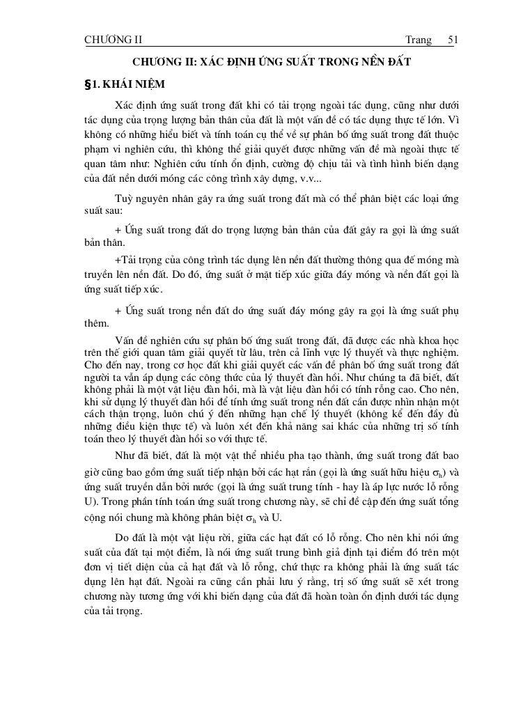 CHÆÅNG II                                                               Trang     51           ch−¬ng ii: x¸c ®Þnh øng suÊ...