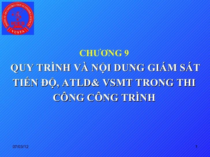 Chuong 9 q ly tien do_atld_ve sinh mt_2