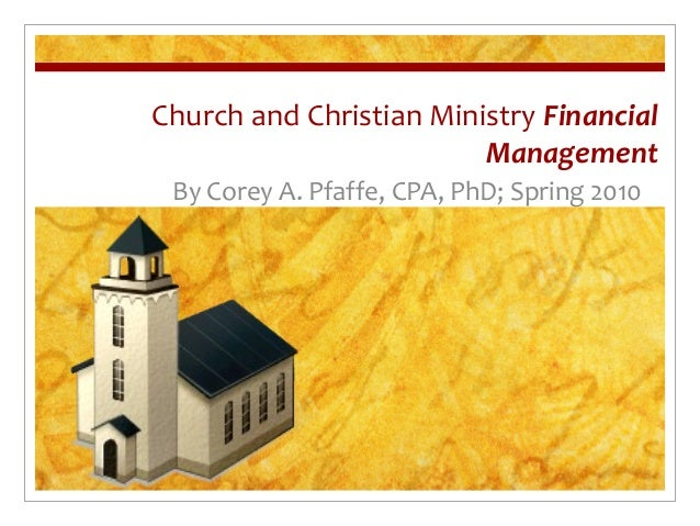 Ministry college finance subjects