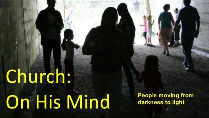 Church on-mind