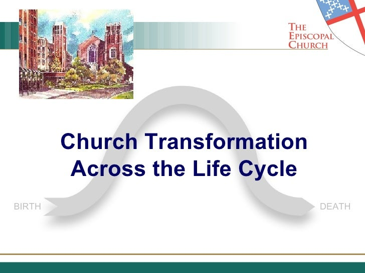 Church Transformation Across the Life Cycle BIRTH DEATH