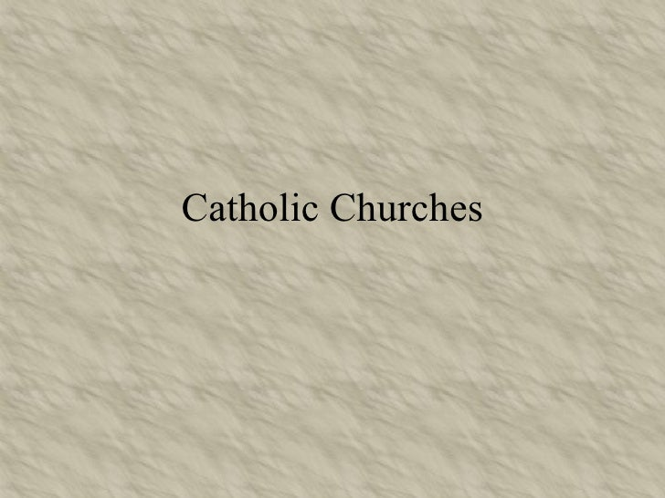 Catholic Churches