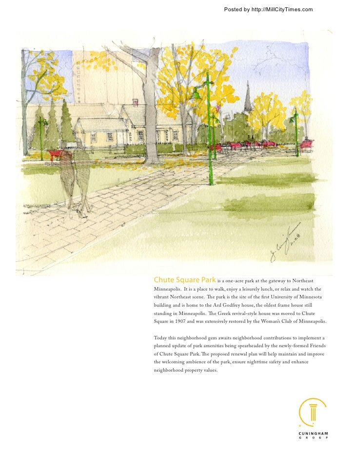 Chute Square Park Design
