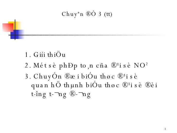 Chuyen De 3   Bo Sung CSDL nang cao
