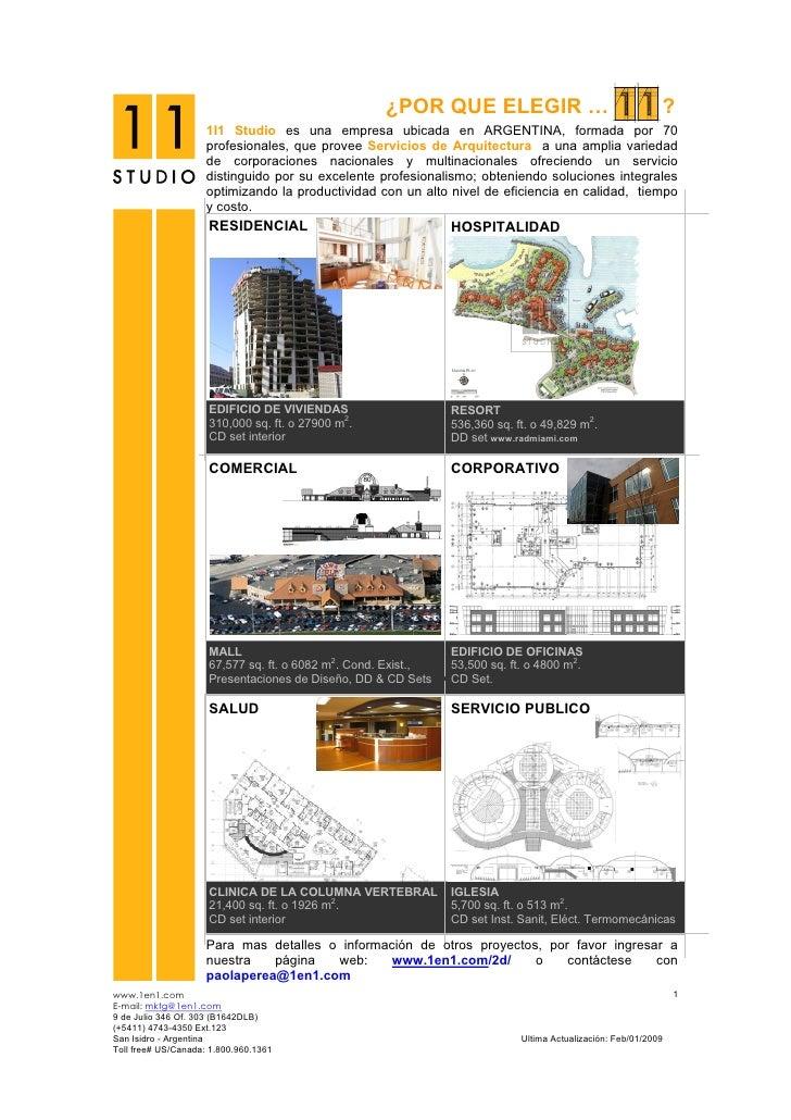 Servicios de arquitectura folleto 09 - Servicios de arquitectura ...