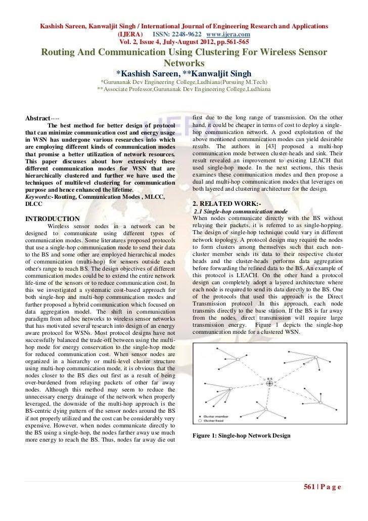 Kashish Sareen, Kanwaljit Singh / International Journal of Engineering Research and Applications                          ...