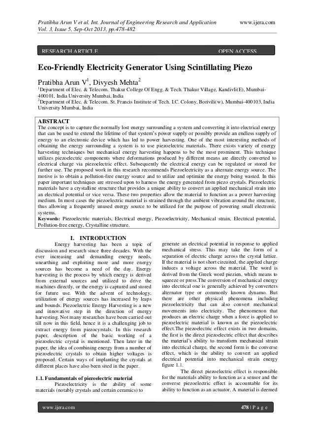 Pratibha Arun V et al. Int. Journal of Engineering Research and Application www.ijera.com Vol. 3, Issue 5, Sep-Oct 2013, p...