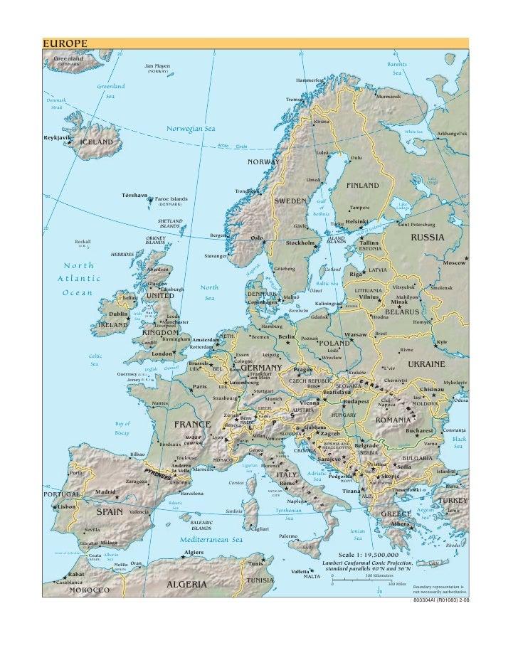 Cia   World Factbook   Reference Map   Europe Kosovo