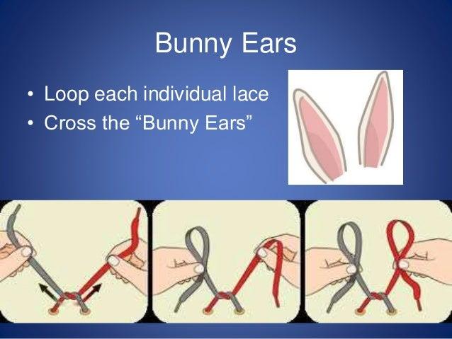 Shoe Laces Bunny Ears