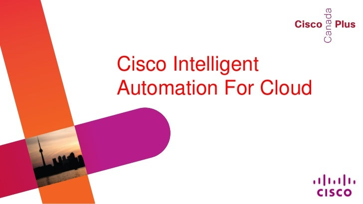 Cisco IntelligentAutomation For Cloud