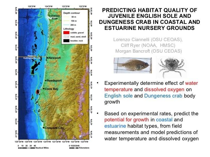Predicting habitat quality...
