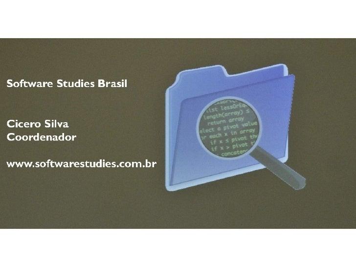 Software Studies Brasil